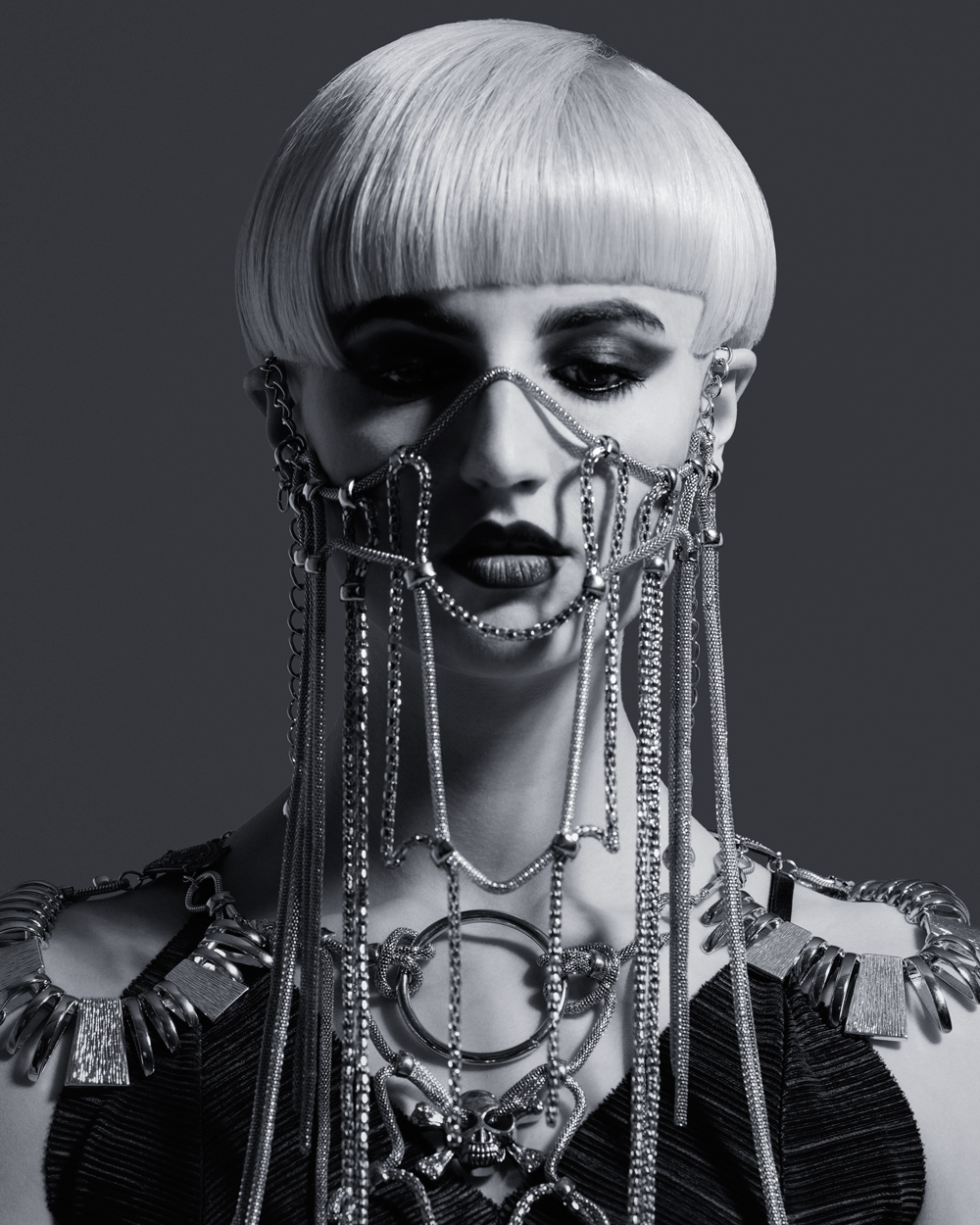 british hairdressing award medusa chains Robert Kirby