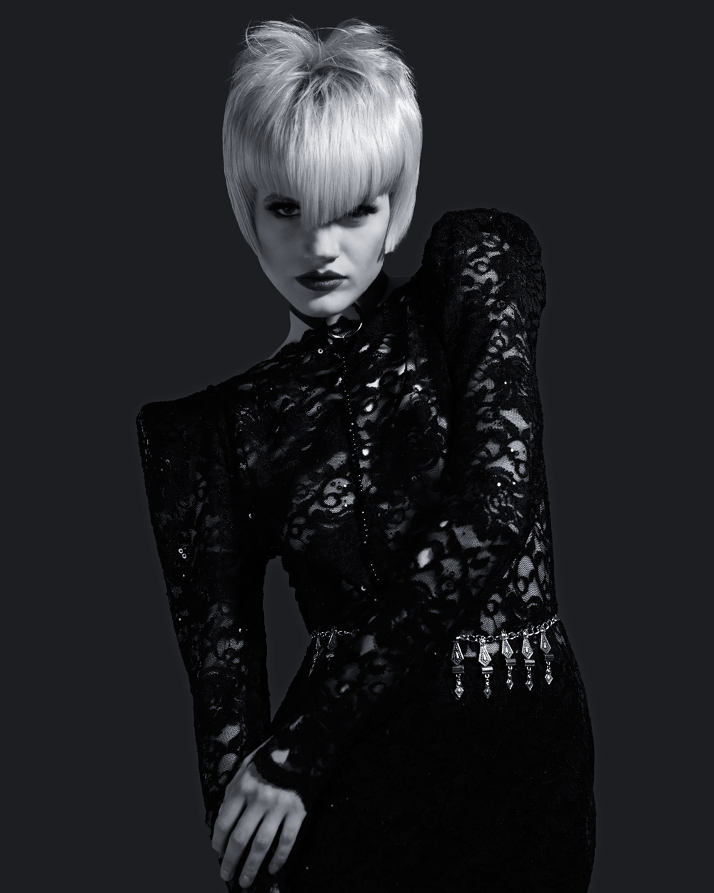 british hairdressing award blond Robert Kirby